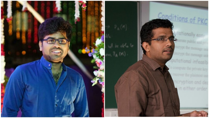 Sriram and Dr. Subrahmanyam have their paper selected as the Best Student Paper at WG2020